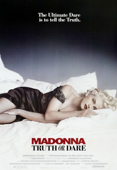 与麦当娜同床